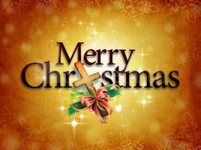 merry christmas Christ