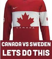 canada vs sweden 2014
