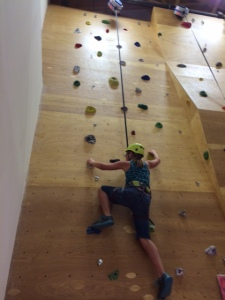 wallclimbing