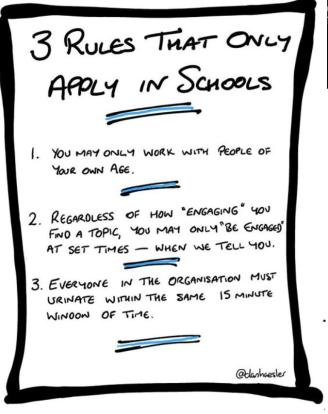 3 Rules That Only Apply in Schools