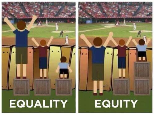 equity not equality