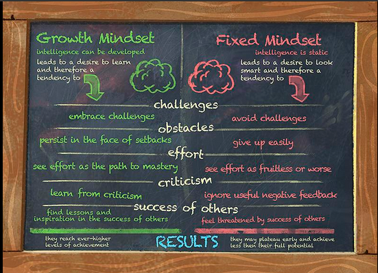 growth fixed mindsets