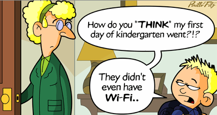 K needs wifi