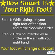 how smart is your foot