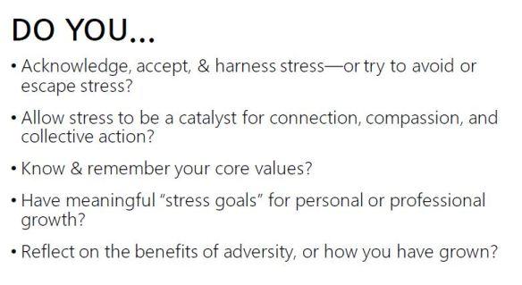 Stress - Do you