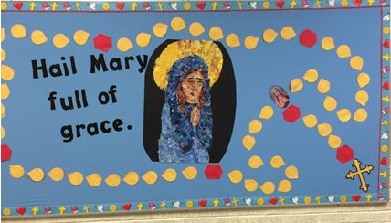 Mary's Place bulleting board2 2016