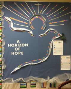Horizon of Hope 2015-16 bulletin board
