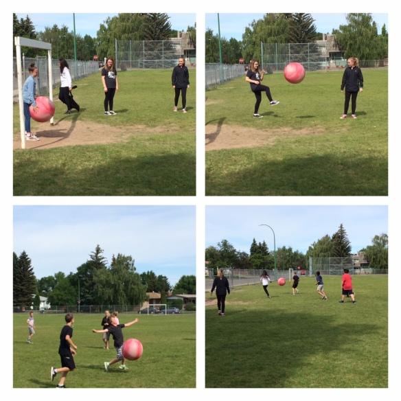 exercise ball soccer