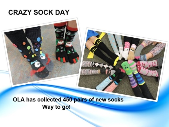 crazy sock day