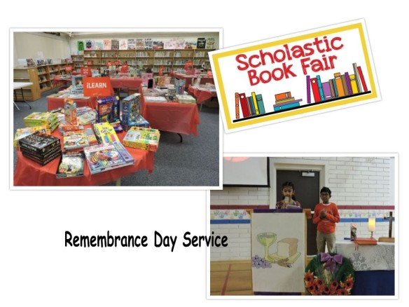 Remembrance day & book fair