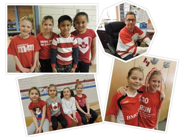 Olympic Red & White day