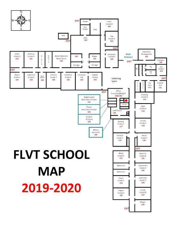 school map 2019-20 version June 15