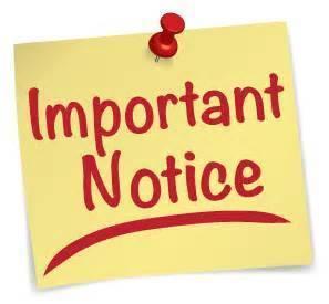 important notice