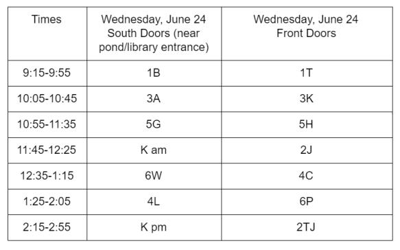 report cards schedule